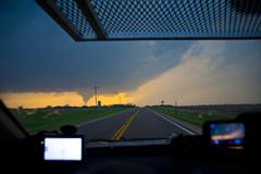 Stock Photo of Rozel, Kansas EF4 Tornado PT1