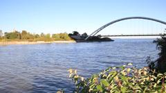 Toronto Humber Arch Bridge Stock Footage