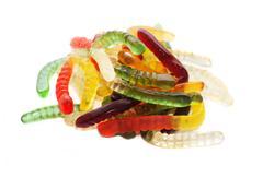 Jelly worms Stock Photos
