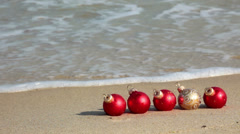 Christmas in the tropics Stock Footage