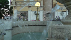 Little Fountain, sound. Stock Footage