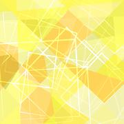 Stock Illustration of yellow abstract patterns