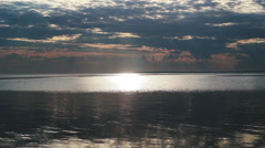 Sky and Sea - stock footage
