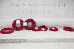 Franco-British Memorial, Thiepval, Somme, France - stock photo