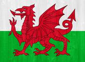 Stock Photo of wales flag