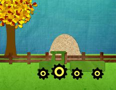 Harvest Invite Stock Illustration