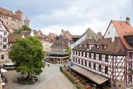 Stock Photo of Nuremberg in Germany