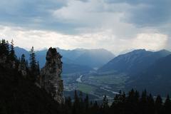 Austrian Valley Stock Photos