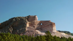 Crazy Horse Memorial - stock footage