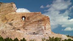 Crazy Horse Memorial Blast Stock Footage