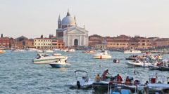Festa del Redentore Venice Stock Footage
