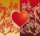 Valentine card Stock Illustration