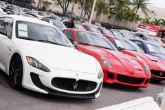 Exotic cars Stock Photos