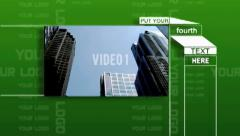 Stock After Effects of company video presentation 01
