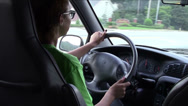 Stock Video Footage of Learning To Drive