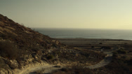 Stock Video Footage of Santa Rosa Island, camp area, Channel Islands National Park