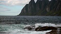 Lofoten island,Norway Stock Footage