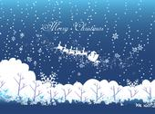 Stock Illustration of Merry christmas and winter
