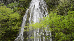 Taru Taki Waterfall, Nagano, Japan Stock Footage