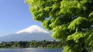 Stock Video Footage of Mount Fuji, Yamanashi, Japan