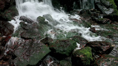 Uriwarinotaki Waterfall, Wakasa Town, Fukui, Japan Stock Footage