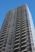 Residential Tower in Midtown Manhattan - stock photo