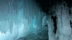 Ice cave Stock Footage