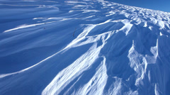 Snow on Kirigamine Plateau, Nagano, Japan Stock Footage