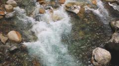 Itadori River, Gifu Stock Footage