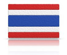 Stock Illustration of flag of thailand