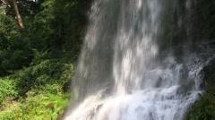 Otome Waterfall, Nagano Stock Footage