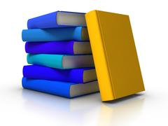 books - stock illustration
