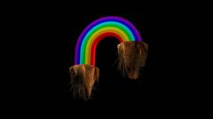 Rainbow Madness Stock Footage