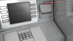 Out of service bank ATM. Stock Footage