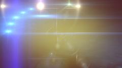 Light shaft CG animation Stock Footage