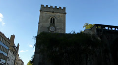 St Mary Magdalen, a parish church in Oxford, UK. (OXFORD Saint Mary Magdalen--1) - stock footage