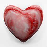 Marble heart - 3D model