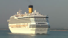 "Cruise ship ""Costa Magica"" Stock Footage"