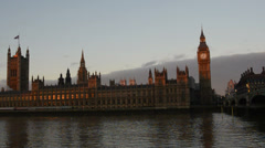 Palace Of Westminster, London Stock Footage