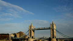 London touristic spots Stock Footage