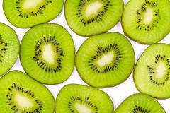 Kiwi pattern - stock photo