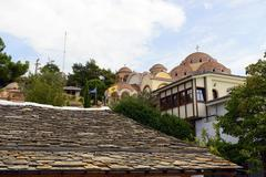 St archangel michael monastery in thassos Stock Photos
