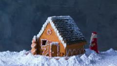 Gingerbread House Stock Footage