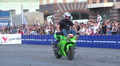 sport bike stunts, Slow Motion 3 HD Footage