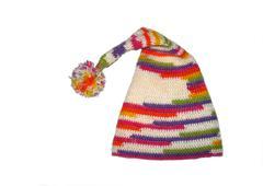 Crochet hat - stock photo