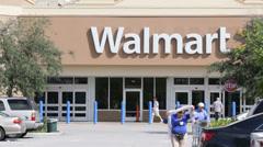 Walmart Stock Footage
