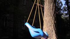 swing on tree - stock footage