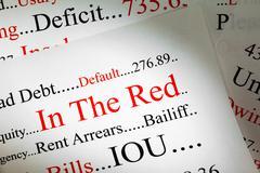 Debt concept Stock Illustration