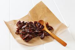 moist dates - stock photo