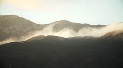Ojai Mountain Time Lapse Stock Footage
